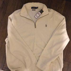 Polo pullover half zip